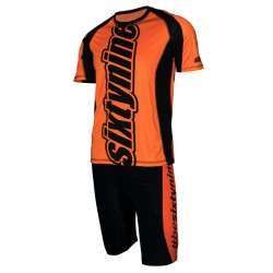 Laufset RUN ULTIMA design VERTICAL fluo orange